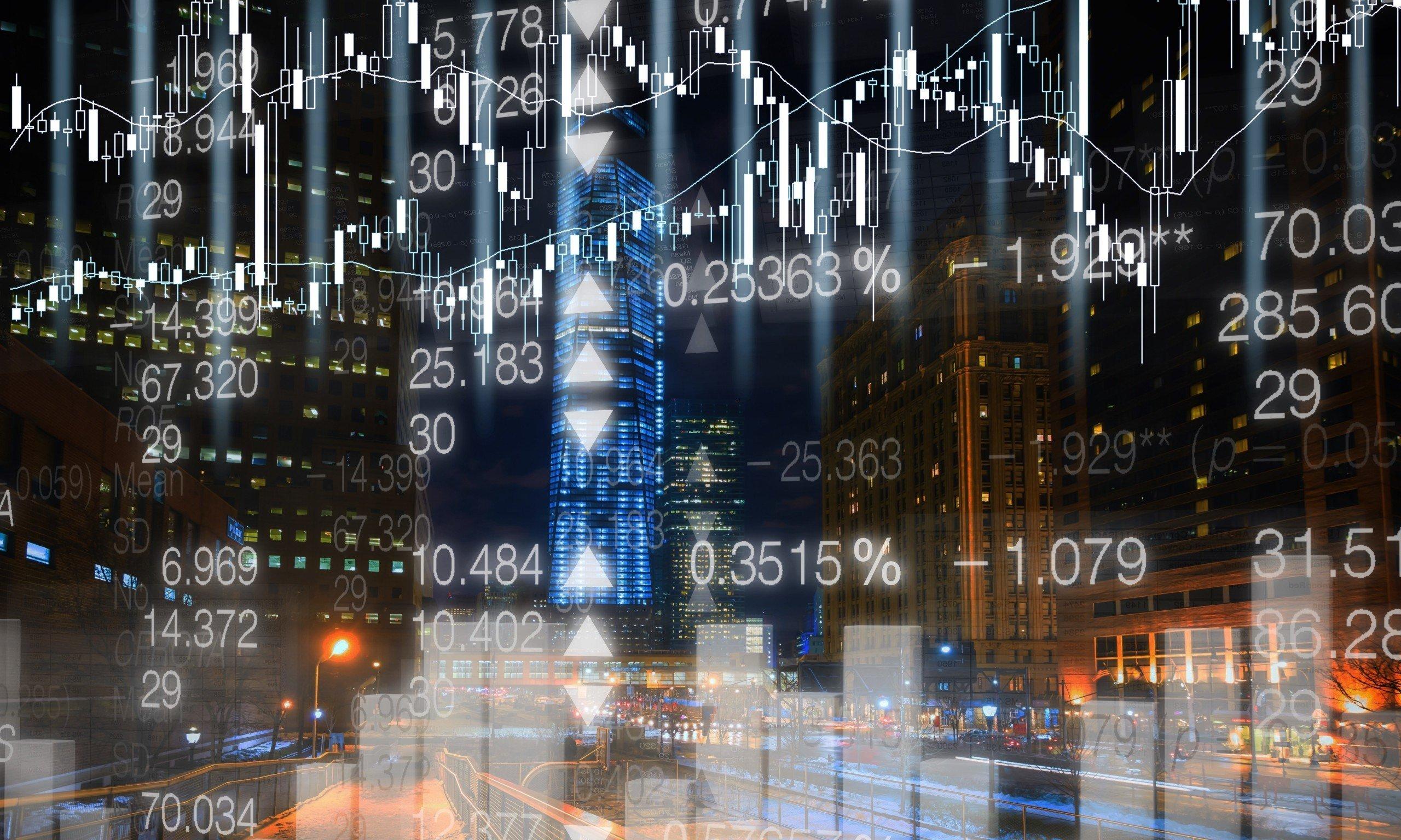 stock prices diagram
