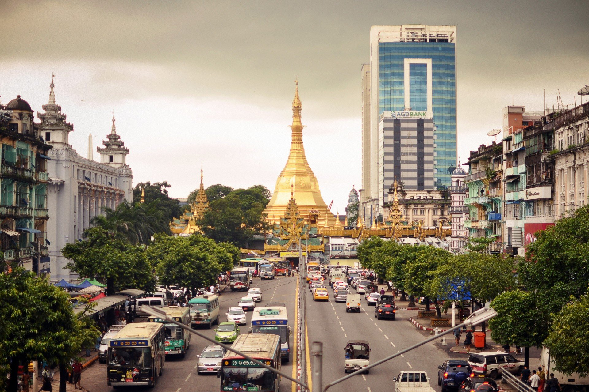 Only six of more than 260 public companies in Myanmar are listed on  the Yangdon Stock Exchange
