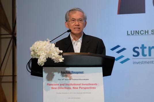 Dr Pisit Leeahtam, Association of Provident Funds (Thailand)