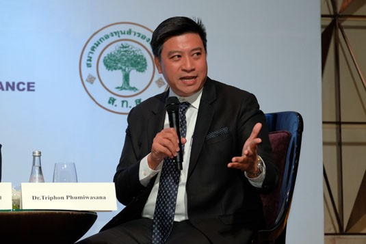 Dr Thanavut Pornrojnangkool, Bangkok Capital Asset Management Company Limited