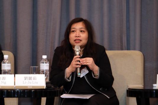 Li-Ju Liu, Bureau of Labor Funds, Ministry of Labor