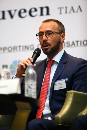 Simon England-Brammer, TIAA Global Asset Management