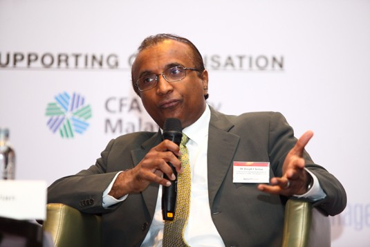 Dr Joseph Cherian, Centre for Asset Management Research & Investments (CAMRI), NUS Business School