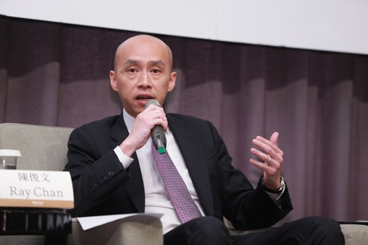 Ray Chan, State Street Global Advisors Asia Limited