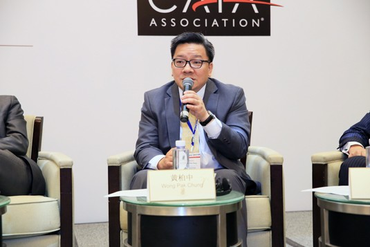 Wong Pak Chung, Hong Kong Exchanges and Clearing Limited