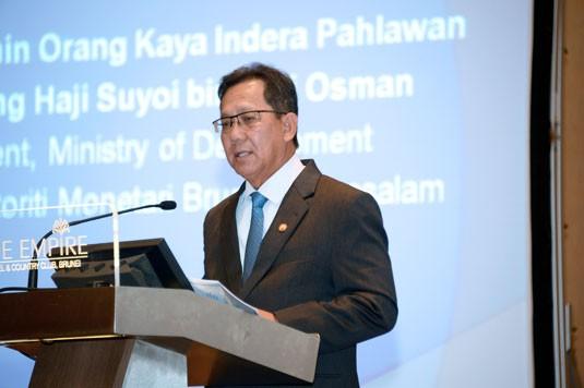 Yang Berhormat Pehin Orang Kaya Indera Pahlawan Dato Seri Setia Awang Haji Suyoi bin Haji Osman, Autoriti Monetari Brunei Darussalam